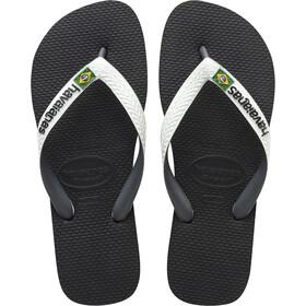 havaianas Brasil Mix Sandalen wit/zwart